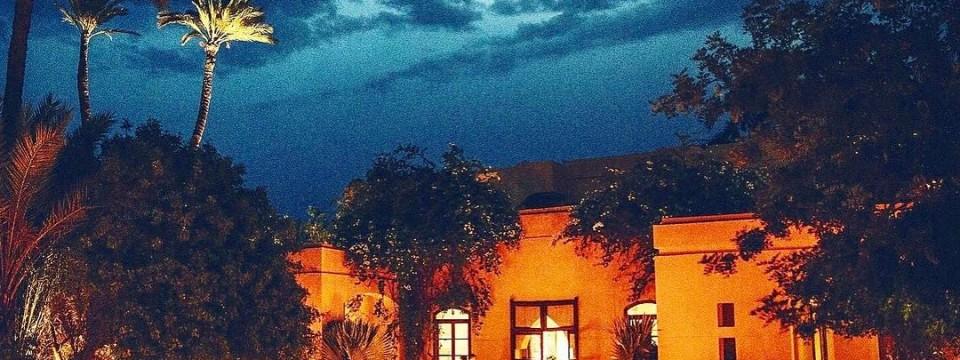 Jnane  the barefoot luxury oasis in Marrakech