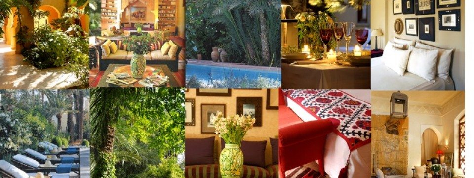 Jnane  the barefoot luxury oasis in Marrakech